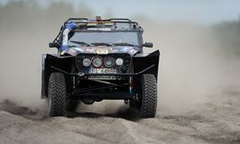 Polish Safari Rally Cross Championship Royalty Free Stock Photos