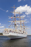 Polish Sail training ship Stock Photography