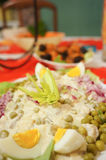 Polish salad Stock Photo