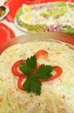 Polish salad Royalty Free Stock Images