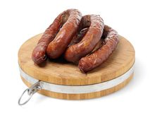 Polish Sausage Royalty Free Stock Image