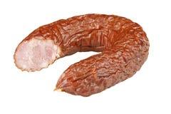 Polish sausage Royalty Free Stock Photo