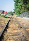 Polish seaside narrow-gauge railway. Royalty Free Stock Images