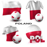 Polish Soccer Royalty Free Stock Images