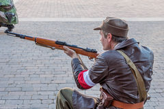Polish soldier, Warsaw uprising 1944 Royalty Free Stock Photos