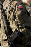 Polish soldiers Stock Photography
