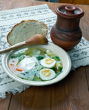 Polish Sorrel Soup Royalty Free Stock Image