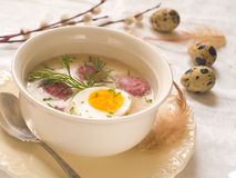 Polish soup Royalty Free Stock Images