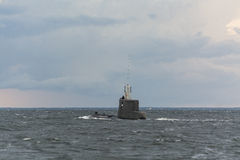 Polish submarine ORP Bielik Royalty Free Stock Images