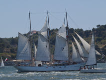 Polish Tall Ship Kapitan Borchard Stock Photography