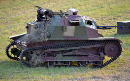 Polish tank tankette Stock Photography