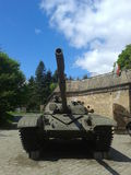 Polish tank Royalty Free Stock Photos