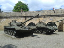 Polish tanks Royalty Free Stock Photo