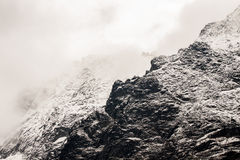 Polish Tatra Mountain rocks Royalty Free Stock Photo