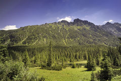 Polish Tatra mountains near Zakopane Stock Image