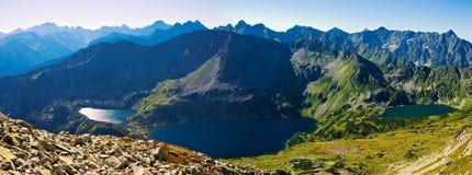 Polish Tatra mountains Stock Images