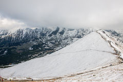 Polish Tatra mountains in winter Stock Photo