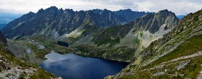 Polish Tatras high mountains. Stock Images