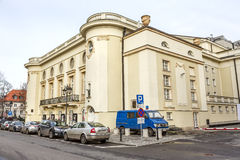 Polish Theatre building in Warsaw Stock Photography