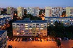 Polish town- Lodz, Poland Royalty Free Stock Photo