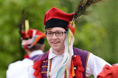 Polish traditional folk dance Royalty Free Stock Photo