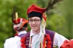 Polish traditional folk dance Royalty Free Stock Photo