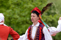 Polish traditional folk dance Stock Photography