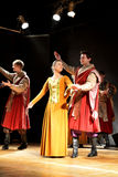 Polish traditional folk dance Stock Image