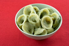 Polish traditional mushroom dumplings. Stock Photography