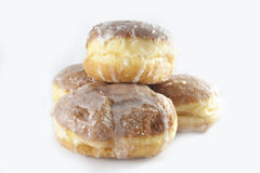 Polish traditional sweets paczki Royalty Free Stock Photography