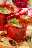 Polish tripe soup (flaki) Royalty Free Stock Photography