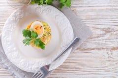 Polish vegetable salad Stock Photo