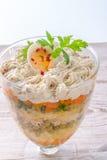 Polish vegetable salad Royalty Free Stock Image