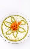Polish vegetable salads Stock Photo