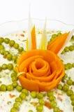 Polish vegetable salads Royalty Free Stock Image