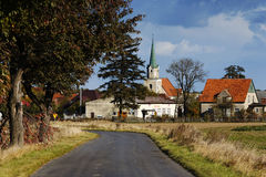 Polish village Stock Images