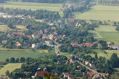 Polish village Stock Images