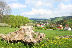 Polish village Stock Photos