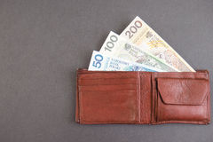 Polish wallet Royalty Free Stock Photo