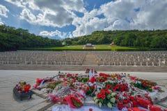 Polish War Cemetery in Cassino, Italy Royalty Free Stock Photo