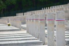 Polish War Cemetery in Cassino, Italy Stock Photo