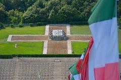 Polish War Cemetery in Cassino, Italy Stock Photography