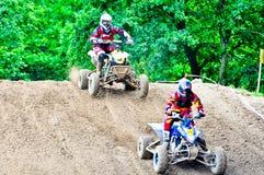 Polish Western Zone Motocross Championship Round VI Poland Stock Photos