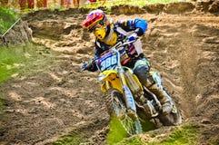 Polish Western Zone Motocross Championship Round VI Poland Stock Image