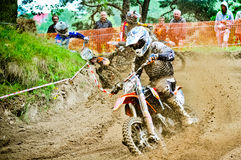 Polish Western Zone Motocross Championship Round VI Poland Royalty Free Stock Photography