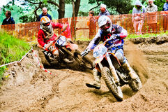 Polish Western Zone Motocross Championship Round VI Poland Stock Photo