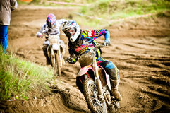 Polish Western Zone Motocross Championship Round VI Poland Stock Photography