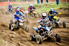 Polish Western Zone Motocross Championship Round VI Poland Royalty Free Stock Images