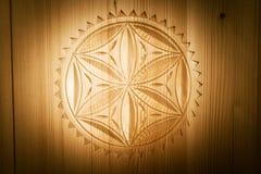Polish Wood Craving Royalty Free Stock Photo