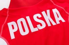 Polish word Polska Royalty Free Stock Image
